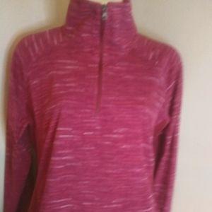 Columbia pink mixture colour fleece top